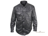 Кожаная рубашка Xelement Leather Shirt